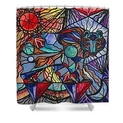 Kodiak Bear Shower Curtain by Teal Eye  Print Store