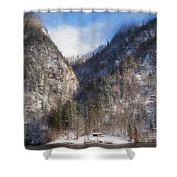 Koenigsee Shower Curtain
