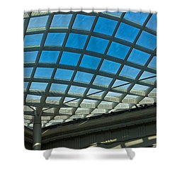 Kogod Courtyard Ceiling #3 Shower Curtain
