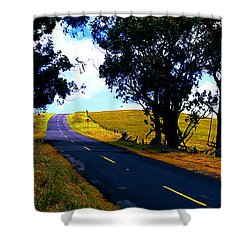 Kohala Mountain Road  Big Island Hawaii  Shower Curtain