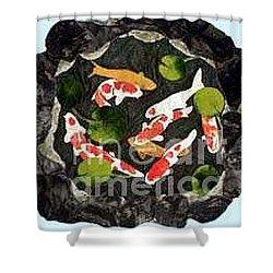 Koi Fest Shower Curtain