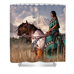 Kokopelmana Shower Curtain