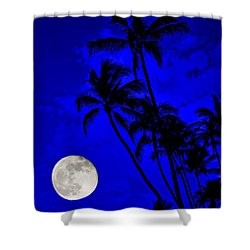 Kona Moon Rising Shower Curtain