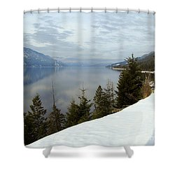 Kootenay Paradise Shower Curtain