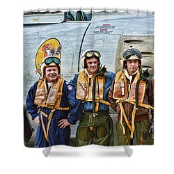Korea 1951 Shower Curtain by Tommy Anderson
