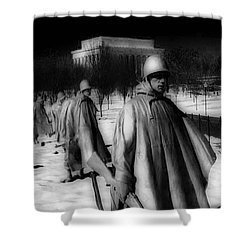 Korean Memorial Shower Curtain by Skip Willits