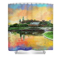 Krakow - Wawel Castle Shower Curtain