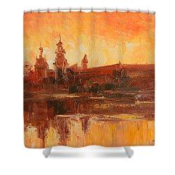 Krakow - Wawel Impression Shower Curtain