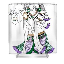 Krishna IIi Shower Curtain
