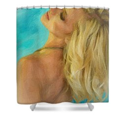 Kristin Shower Curtain by Angela A Stanton