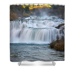 Krka Waterfalls Shower Curtain