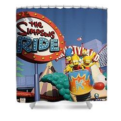 Krusty Shower Curtain
