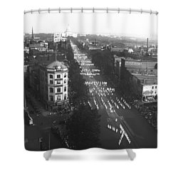 Ku Klux Klan Parade Shower Curtain by Underwood Archives