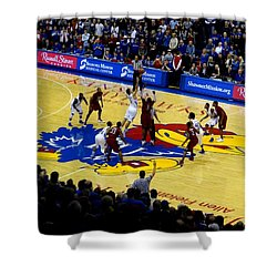 Ku Tip Off Shower Curtain by Keith Stokes