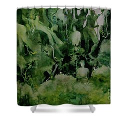 Kudzombies Shower Curtain
