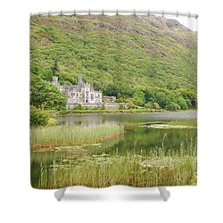Kylemore Abbey 1 Shower Curtain by Mary Carol Story