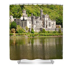 Kylemore Abbey 2 Shower Curtain by Mary Carol Story