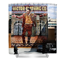 Shower Curtain featuring the photograph L A  City Beat by Jennie Breeze