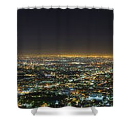 La At Night Shower Curtain