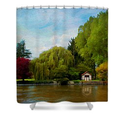 La Cabane A Acquigny Shower Curtain