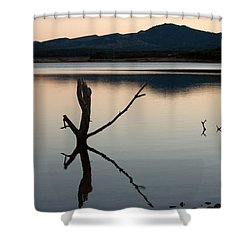 La Estanca-perdiguero - 2 Shower Curtain by RicardMN Photography