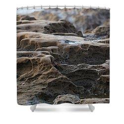 La Jolla Sandstone Shower Curtain