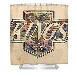 La Kings Vintage Art Shower Curtain