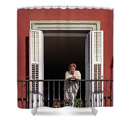 La Madrilena Shower Curtain