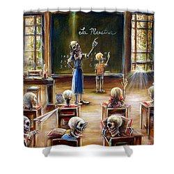 La Maestra Shower Curtain