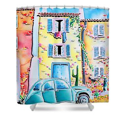 La Maison De Copain Shower Curtain