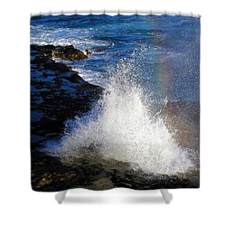 Hawaiian Rainbow Shower Curtain