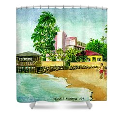 La Playa Hotel Isla Verde Puerto Rico Shower Curtain