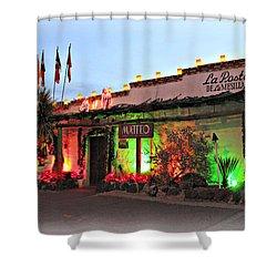 Shower Curtain featuring the photograph La Posta De Mesilla New Mexico by Barbara Chichester