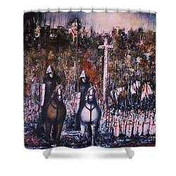 La Reconquista Shower Curtain