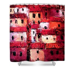 La Vieille Ville Shower Curtain