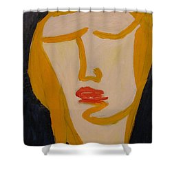 L.a. Woman Shower Curtain