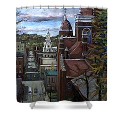 La025 Shower Curtain
