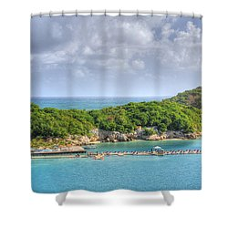 Labadee Shower Curtain