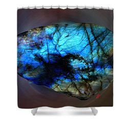 Labrodit Beauty Shower Curtain