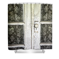 Lace Curtains Shower Curtain by Margie Hurwich