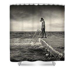 Lack 17.51 Shower Curtain by Taylan Apukovska