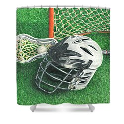 Lacrosse Shower Curtain