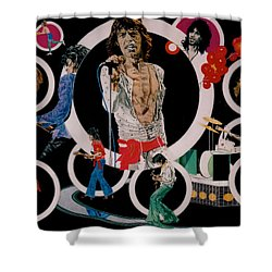 Ladies And Gentlemen - The Rolling Stones Shower Curtain