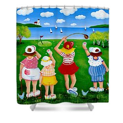 Ladies League Door County Shower Curtain