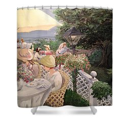Ladies Luncheon Shower Curtain