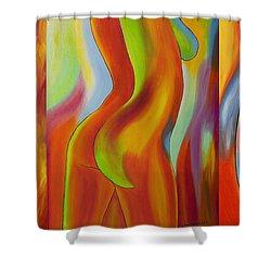 Ladies Shower Curtain by Veikko Suikkanen