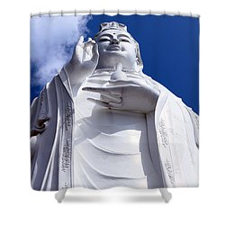 Lady Buddha Vietnam Shower Curtain