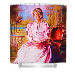 Lady Diana Our Princess Shower Curtain