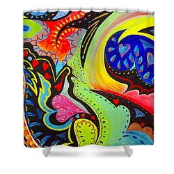 Lady Love Shower Curtain