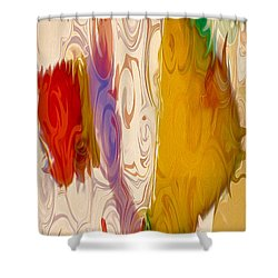 Lady Love Shower Curtain by Omaste Witkowski